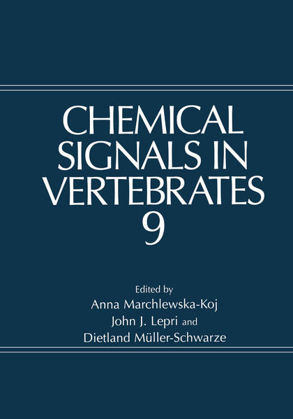 Chemical Signals in Vertebrates 9 - Coverbild