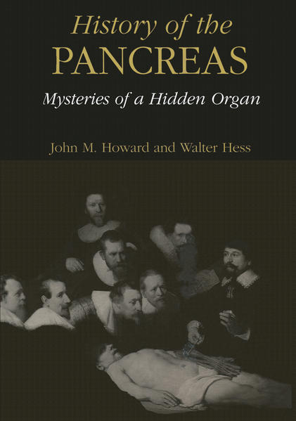 History of the Pancreas: Mysteries of a Hidden Organ - Coverbild