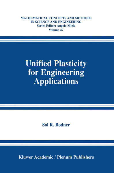 Unified Plasticity for Engineering Applications - Coverbild