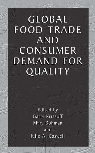 Global Food Trade and Consumer Demand for Quality - Coverbild