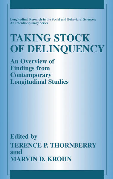 Taking Stock of Delinquency - Coverbild