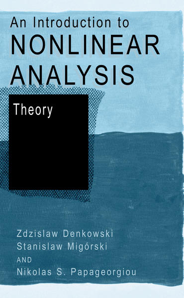 An Introduction to Nonlinear Analysis: Theory - Coverbild
