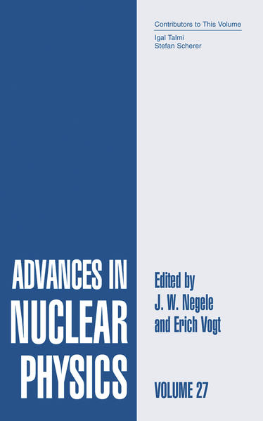 Advances in Nuclear Physics - Coverbild