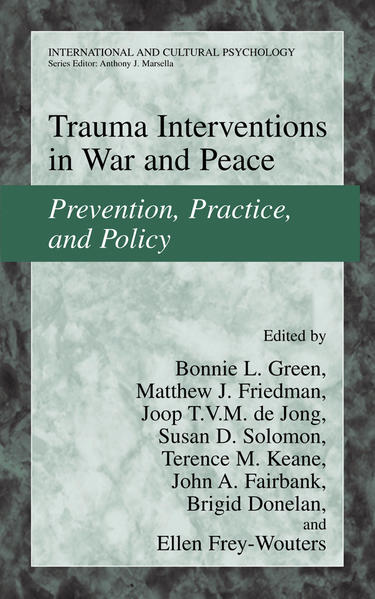 Trauma Interventions in War and Peace - Coverbild