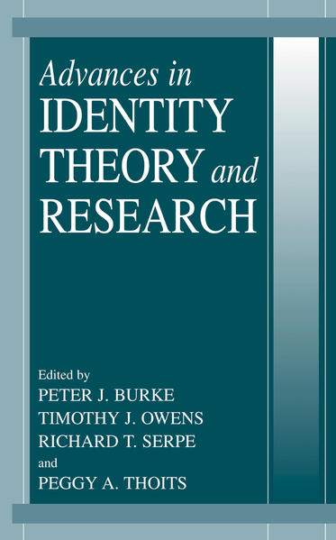 Advances in Identity Theory and Research - Coverbild