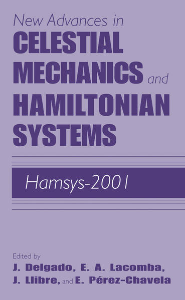New Advances in Celestial Mechanics and Hamiltonian Systems - Coverbild