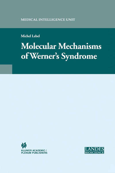 Molecular Mechanisms of Werner's Syndrome - Coverbild