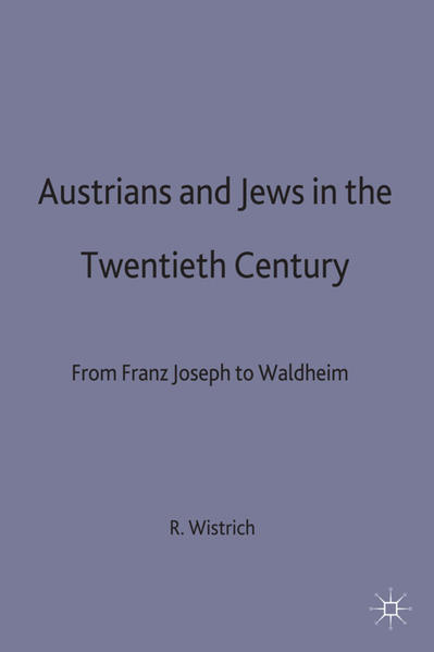 Austrians and Jews in the Twentieth Century - Coverbild