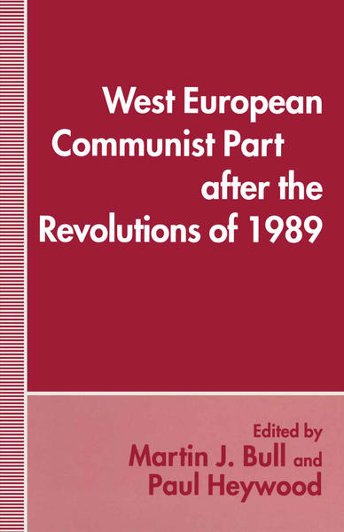 West European Communist Parties after the Revolutions of 1989 - Coverbild