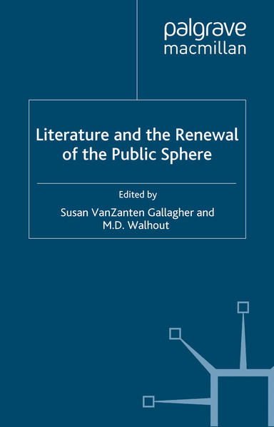 Literature and the Renewal of the Public Sphere - Coverbild