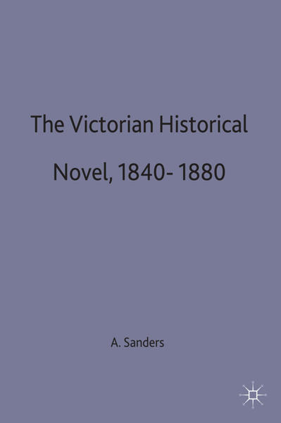 The Victorian Historical Novel 1840–1880 - Coverbild