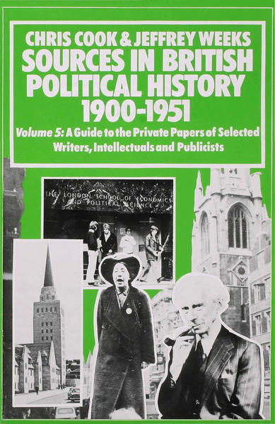 Sources In British Political History, 1900-1951 - Coverbild