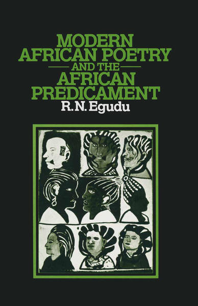 Modern African Poetry and the African Predicament - Coverbild