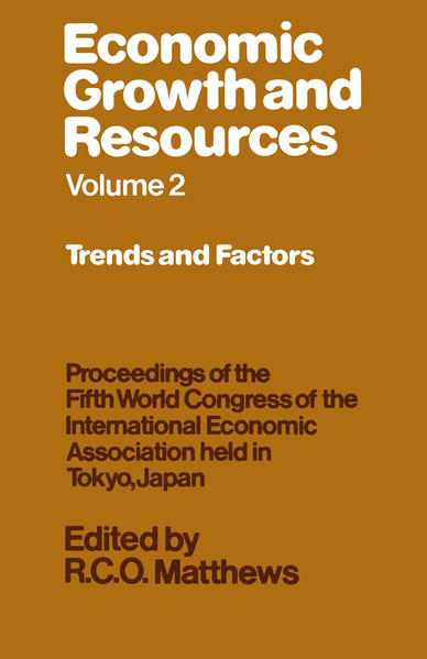 Economic Growth and Resources - Coverbild