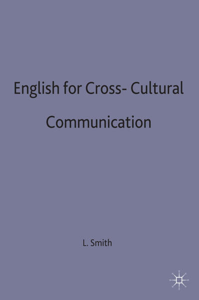 English for Cross-Cultural Communication - Coverbild