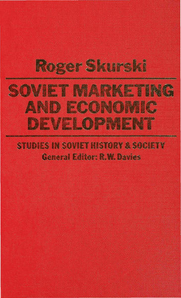 Soviet Marketing and Economic Development - Coverbild