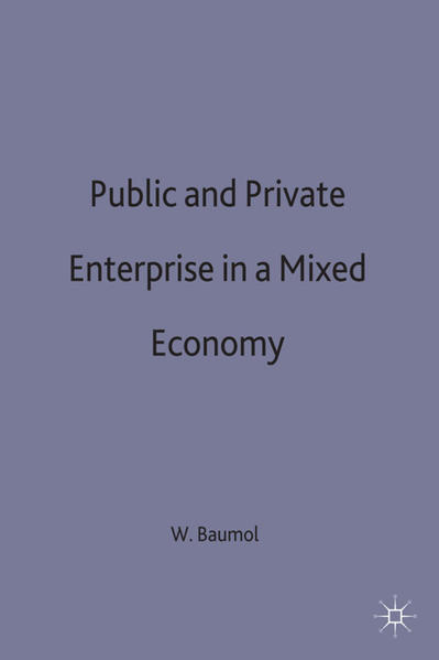 Public and Private Enterprise in a Mixed Economy - Coverbild