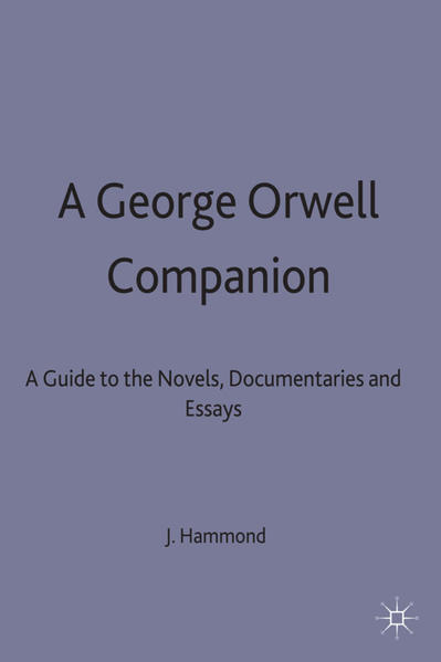 A George Orwell Companion - Coverbild