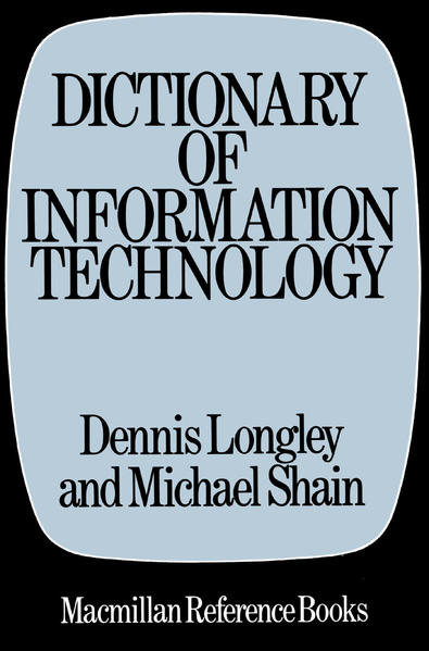 Dictionary of Information Technology - Coverbild