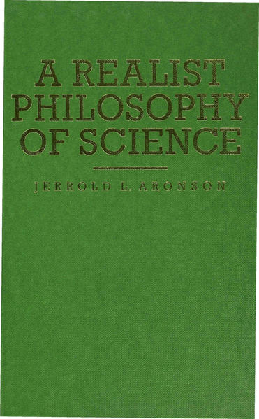 A Realist Philosophy of Science - Coverbild