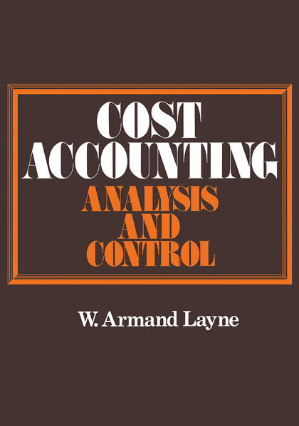 Cost Accounting - Coverbild