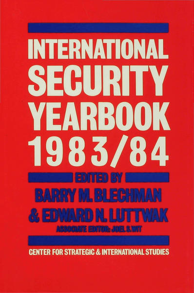 International Security Yearbook 1983/84 - Coverbild