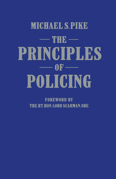 The Principles of Policing - Coverbild