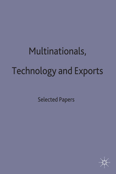 Multinationals, Technology and Exports - Coverbild