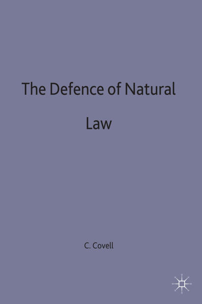 The Defence of Natural Law - Coverbild