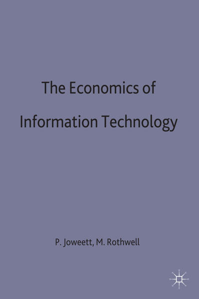 The Economics of Information Technology - Coverbild
