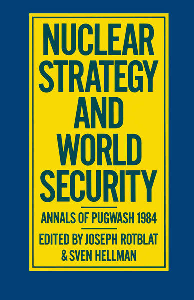 Nuclear Strategy and World Security - Coverbild