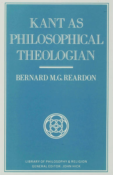 Kant as Philosophical Theologian - Coverbild