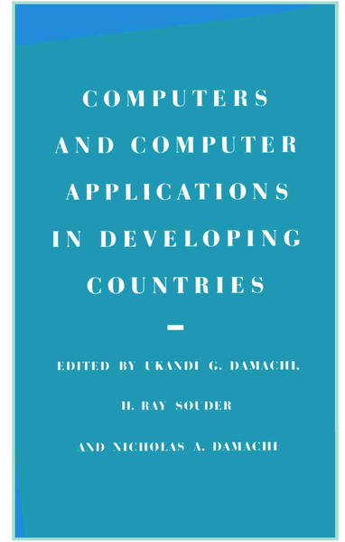 Computers and Computer Applications in Developing Countries - Coverbild