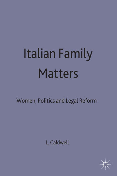 Italian Family Matters - Coverbild