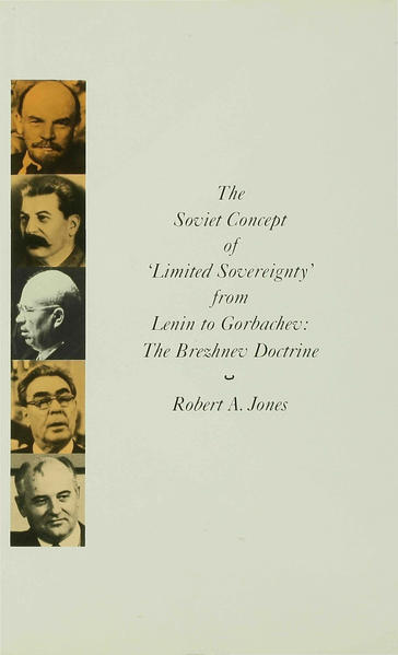The Soviet Concept of 'Limited Sovereignty' from Lenin to Gorbachev - Coverbild