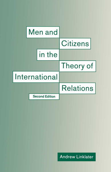 Men and Citizens in the Theory of International Relations - Coverbild