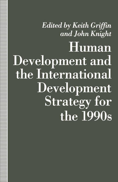Human Development and the International Development Strategy for the 1990s - Coverbild