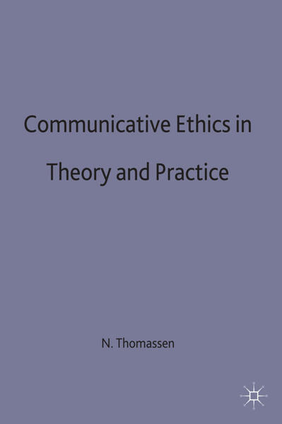 Communicative Ethics in Theory and Practice - Coverbild