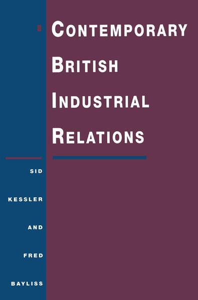 Contemporary British Industrial Relations - Coverbild