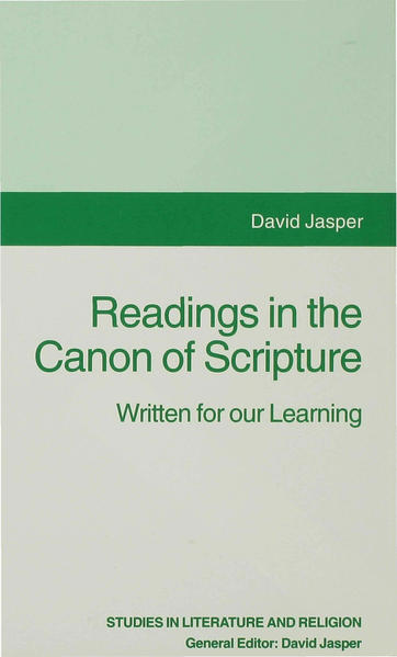 Readings in the Canon of Scripture - Coverbild
