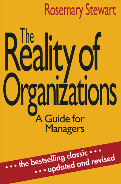 The Reality of Organizations - Coverbild