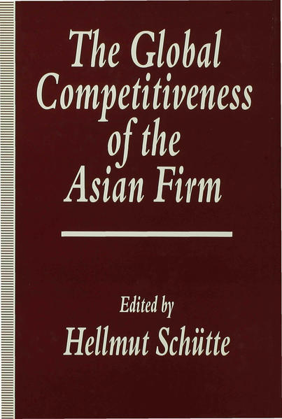 The Global Competitiveness of the Asian Firm - Coverbild