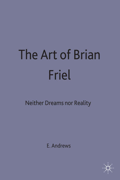 The Art of Brian Friel - Coverbild