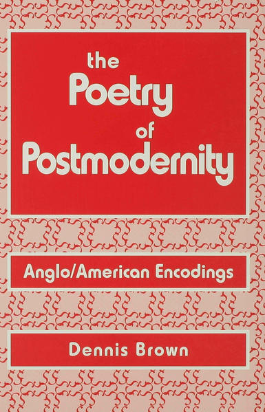 The Poetry of Postmodernity - Coverbild