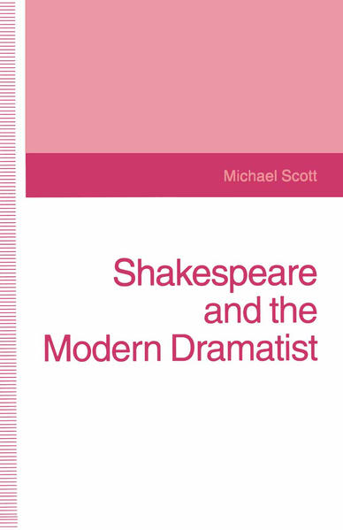 Shakespeare and the Modern Dramatist - Coverbild