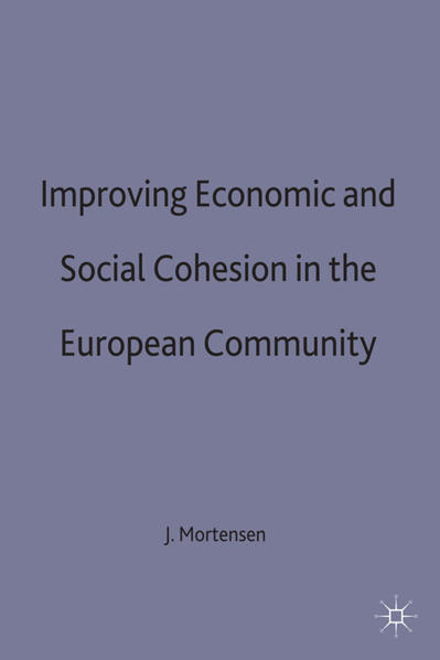 Improving Economic and Social Cohesion in the European Community - Coverbild