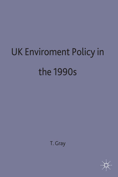 UK Environmental Policy in the 1990s - Coverbild