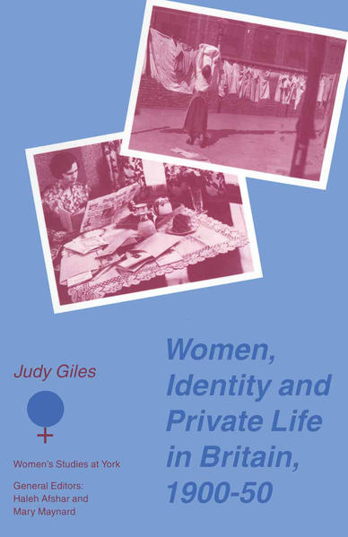 Women, Identity and Private Life in Britain, 1900–50 - Coverbild