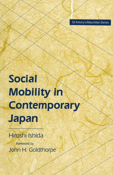 Social Mobility in Contemporary Japan - Coverbild