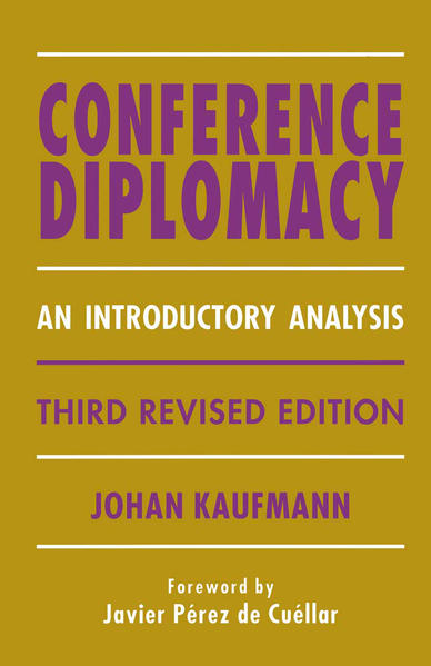 Conference Diplomacy - Coverbild